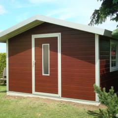 GO-ISO - hochwertiges Gartenhaus isoliert 3,50 x 3,00 m:  Gartenhaus von Trapezblech Gonschior oHG