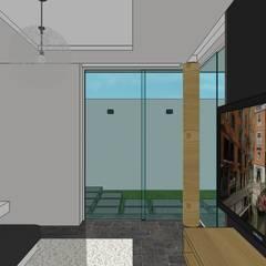 Casa en Barinas: Cuartos de estilo  por MARATEA Estudio