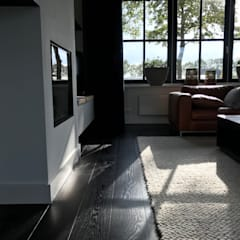 Salas de estilo moderno de ARDEE Parket Interieur Design Moderno Madera Acabado en madera
