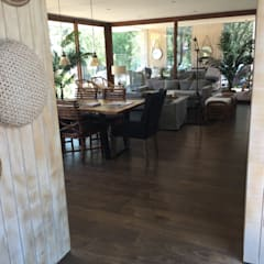 Productos para Casas Modulares: Comedores de estilo  por Constructora Las Américas S.A.