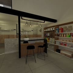 Loja: Lojas e imóveis comerciais  por Daniela Rodrigues Arquitetura e Interiores