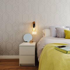 Dormitorio principal: Dormitorios infantiles de estilo  de Noelia Villalba