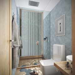 House 516 Scandinavian style bathroom by Studio Gritt Scandinavian
