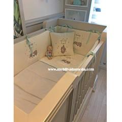 MOBİLYADA MODA  – İkiz Bebek Odası, Arhan ve Uras'ın Odası :  tarz Bebek odası