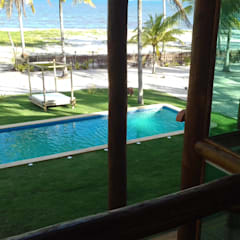 Arquitetura & Design - Marcela Tavaresが手掛けた家庭用プール