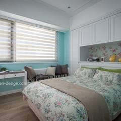 Dormitorios de estilo  por 鼎士達室內裝修企劃