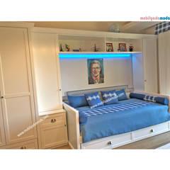 MOBİLYADA MODA  – Özel Tasarım Genç Odası, Cihan'ın Odası:  tarz Erkek çocuk yatak odası
