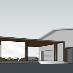 I House Extension:  Villas by KN Design,