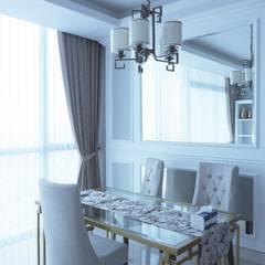 Apartmen Windsor Jakarta Barat: Ruang Makan oleh Gaiyuu Jaya Abadi,