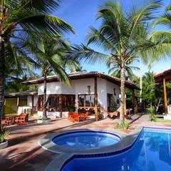 Bloco do Restaurante: Hotéis  por Arquitetura & Design - Marcela Tavares
