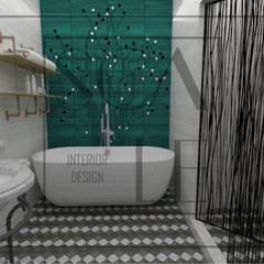 Servicios higiénicos de habitación principal: Baños de estilo  por Scale Interior Design