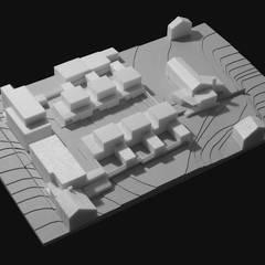 Patiowoningen en appartementen Hennemettenstraat, Gronsveld:  Eengezinswoning door Verheij Architecten