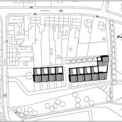 Patiowoningen Maastricht:  Eengezinswoning door Verheij Architecten