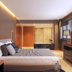 Дизайн интерьера Президентского номера в пятизвездочном отеле. Duplex Apartment: Гостиницы в . Автор – Duplex Apartment Интерьерные решения