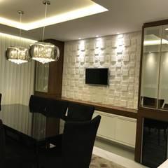 Sala de Janta: Salas de jantar  por RS Design Studio