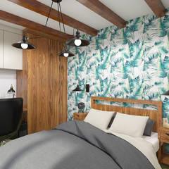 BOTANICAL: styl , w kategorii Sypialnia zaprojektowany przez Creoline