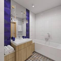 BOTANICAL: styl , w kategorii Łazienka zaprojektowany przez Creoline