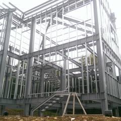 鋼構木屋:  牆面 by 安居屋有限公司
