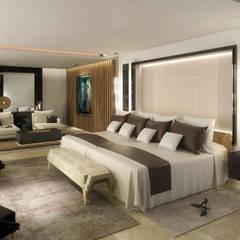 Dormitorio Principal: Dormitorios de estilo  por MADBA design & architecture
