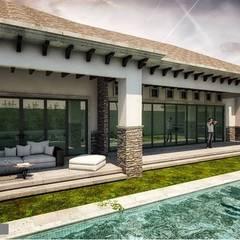 Terraza: Terrazas de estilo  por DAMAJO Grupo Inmobiliario