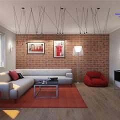 Living room in Loft style: industrial Living room by 'Design studio S-8'