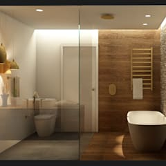 Bathroom by Scopo Arquitetura e Interiores