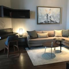 PH St Regis, Cd de México: Salas multimedia de estilo  por De Firma Muebles,