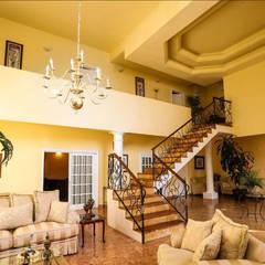 Casa Danzantes: Salas de estilo clásico por D&C Arquitectos