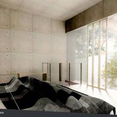 Rumah Riung (Communal Sharing & Gardening House): Kamar Tidur oleh sigit.kusumawijaya | architect & urbandesigner,
