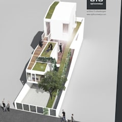 sigit.kusumawijaya   architect & urbandesigner의  일세대용 주택