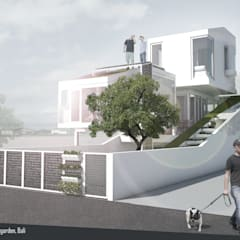 Split & Slope (Edible) Garden House:  Rumah tinggal  by sigit.kusumawijaya | architect & urbandesigner