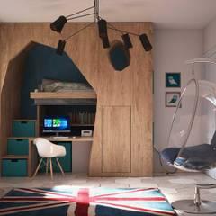 Giardino D'inverno e ristrutturazione: Camera da letto in stile  di Alfredo Pulcrano