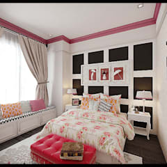 Girls room:  Kamar Bayi & Anak by VaDsign