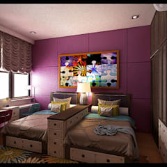 Kids room Oleh VaDsign Modern Kayu Wood effect