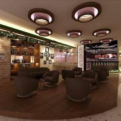 Karaoke entrance and public hall: Koridor dan lorong oleh VaDsign,