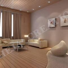 Interior Modern living room by Raheja Creations Modern
