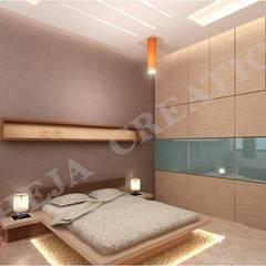 Interior Modern style bedroom by Raheja Creations Modern