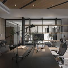 Arbeitszimmer von Fertility Design 豐聚空間設計
