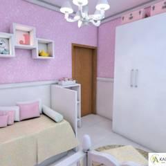 ห้องเด็กอ่อน by Karla Araujo | Arquitetura + Interiores