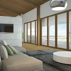 Living room by EsboçoSigma, Lda