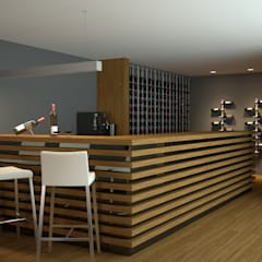Wine cellar by EsboçoSigma, Lda, Country