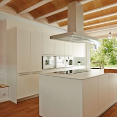 Built-in kitchens by LaBoqueria Taller d'Arquitectura i Disseny Industrial