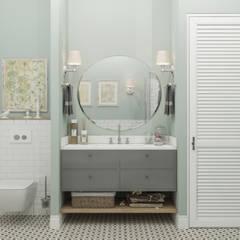 ห้องน้ำ โดย OM DESIGN, สแกนดิเนเวียน