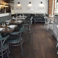 Restaurante Black bear : Locales gastronómicos de estilo  por Pisos Millenium