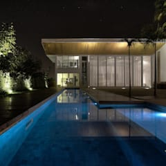 Garden Pool by Olaa Arquitetos, Scandinavian