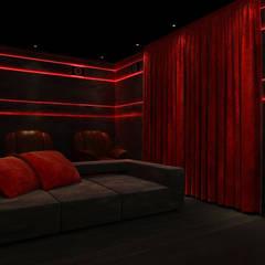 Multimedia-Raum von Rhythm  And Emphasis Design Studio