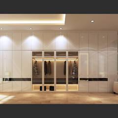 Bungalow Design -Horizon Hill Johor Bahru,Malaysia:  Corridor & hallway by Enrich Artlife & Interior Design Sdn Bhd, Modern