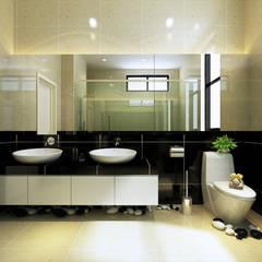 Bungalow Design -Horizon Hill Johor Bahru,Malaysia:  Bathroom by Enrich Artlife & Interior Design Sdn Bhd