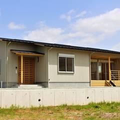 外観: 松井設計が手掛けた家です。