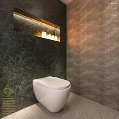 Semi-Detached Houses Design - Horizon Hill Johor,Malaysia:  Bathroom by Enrich Artlife & Interior Design Sdn Bhd
